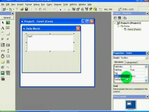 Visual Basic 6 - Tutorial 1