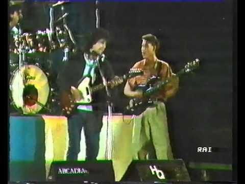Pino Daniele - Bonne soiree live (festa scudetto del Napoli 1987) video raro