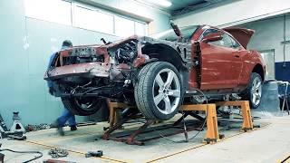 CHEVROLET CAMARO PROJECT - ПОЛНОЕ восстановление автомобиля после ДТП.Серия пятая. Покраска деталей