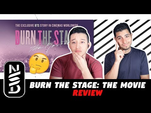 GUYS REVIEW BTS 'BURN THE STAGE: THE MOVIE'