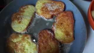 Сербская кухня с Леной Лазич. Гренки по-сербски. Мужская еда.