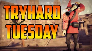 Tryhard Tuesday! Muselks Gets A Red Face. Everything Went Crazy!