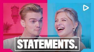 Stefan, Bram & Amber showen buikdans skills - STATEMENTS. | SLAM!