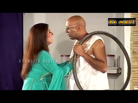 Best Of Akram Udass and Asha Choudhary Stage Drama Full Comedy Clip