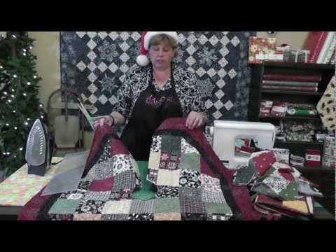 Quilt An Adorable Christmas Tree Skirt