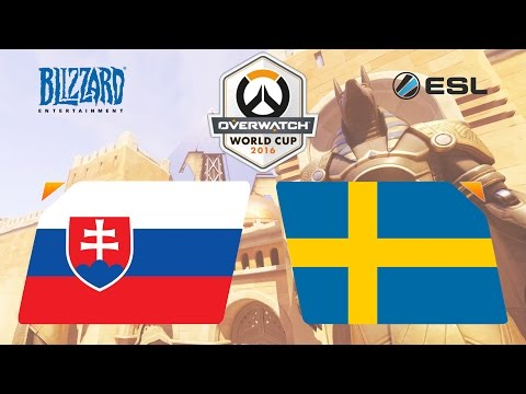 Overwatch - Slovakia vs. Sweden - Overwatch World Cup - Group D