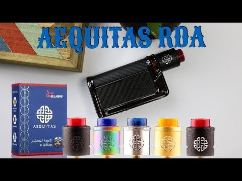 Aequitas RDA designed by AmbitionZ Vaper & Hellvape | Review |