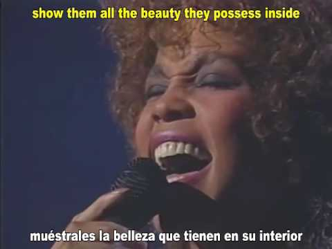 Whitney Houston - Greatest Love Of All - Subtítulos  Español Ingles
