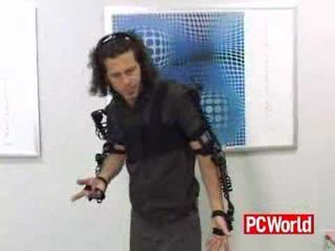 $1000 Exoskeleton Turns Your Movements Into Music