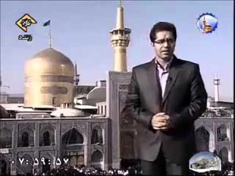 سوتی گزارشگر در برنامه زنده مشهد               IRIB sooti TV live fun