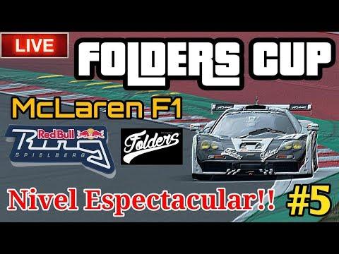 🔴 Directo de Gran Turismo Sport - FOLDERS CUP #5 - Nivel TOP en pista | McLaren F1 , Red Bull Ring thumbnail