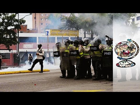 Venezuelan Demonstrators are Fighting to Overthrow the System
