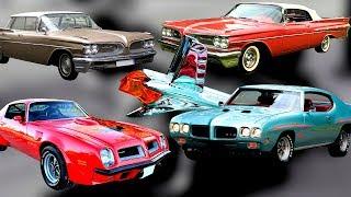 История автомобилей PONTIAC (понтиак), автомобили индейцев с двигателями большого объема