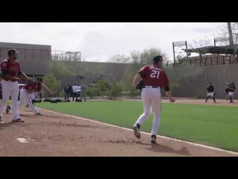 2017 Arizona Diamondbacks spring training: 2/17, first day of full workouts