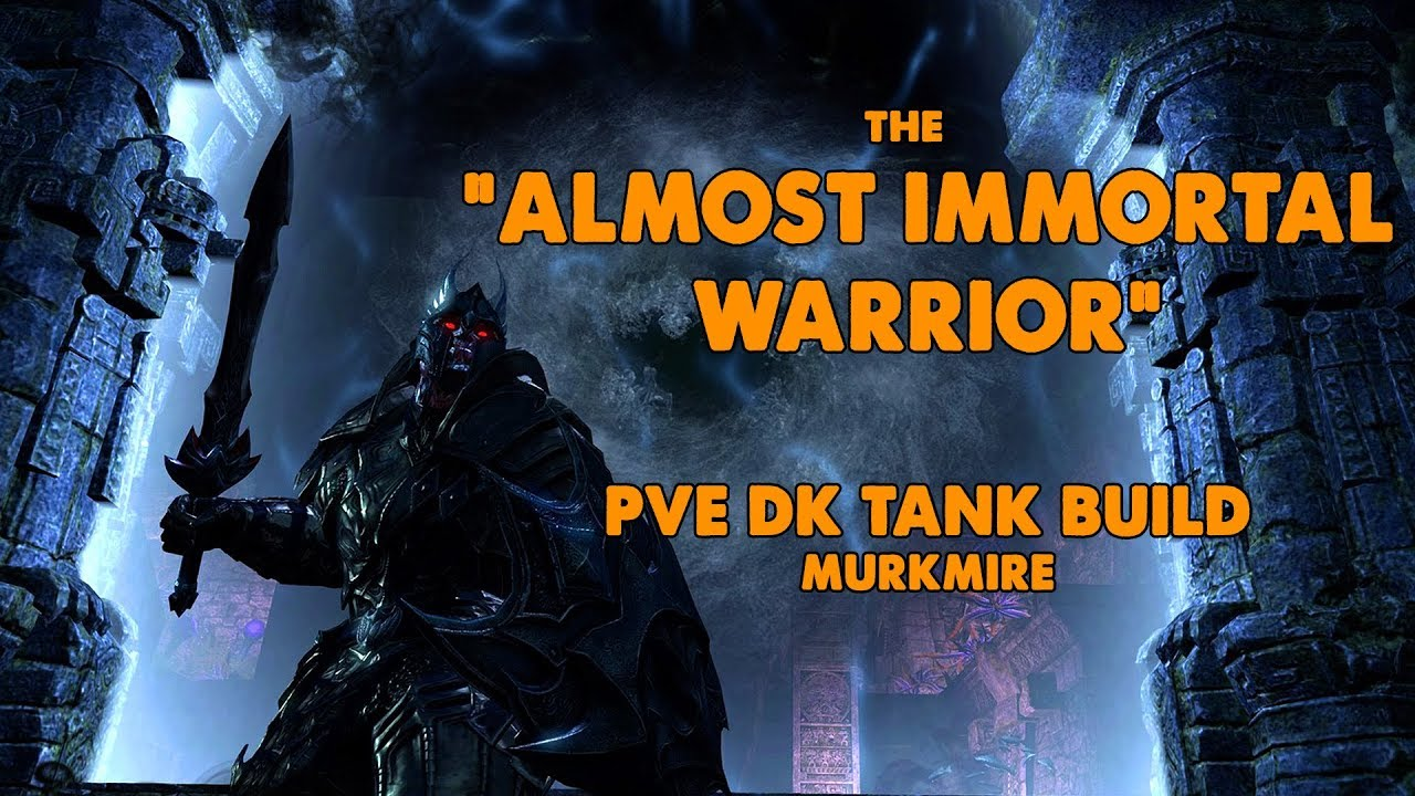 ESO - Almost Immortal Warrior - PVE Dragonknight Tank Build - (Murkmire)