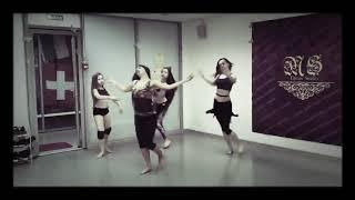 رقص الراقصة الروسية على اغنية حلو حلو/رقص خورافي/الجزء الثاني