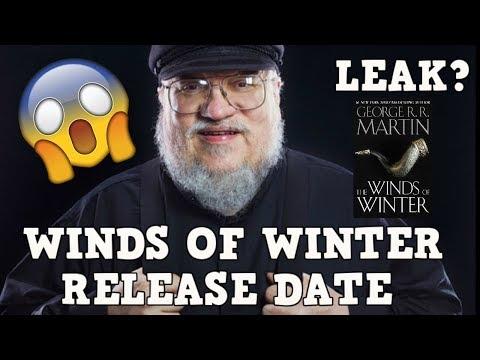 Breaking News Winds of Winter Release Date Leak | Game of Thrones | ASOIAF