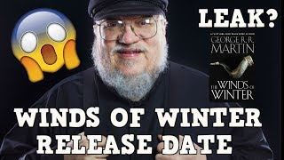 Did the Release date of the next book in George RR Martin's A song ...