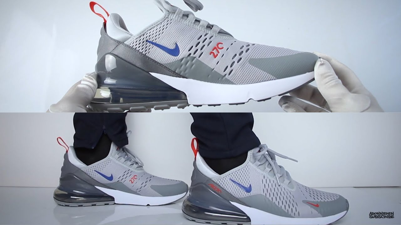 Nike Air Max 270 'Grey' (review) UNBOXING & ON FEET