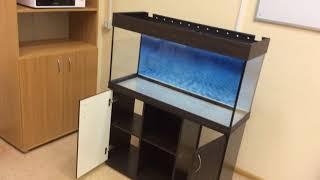 Обзор аквариума 180 литров прямоугольный от ZelAqua