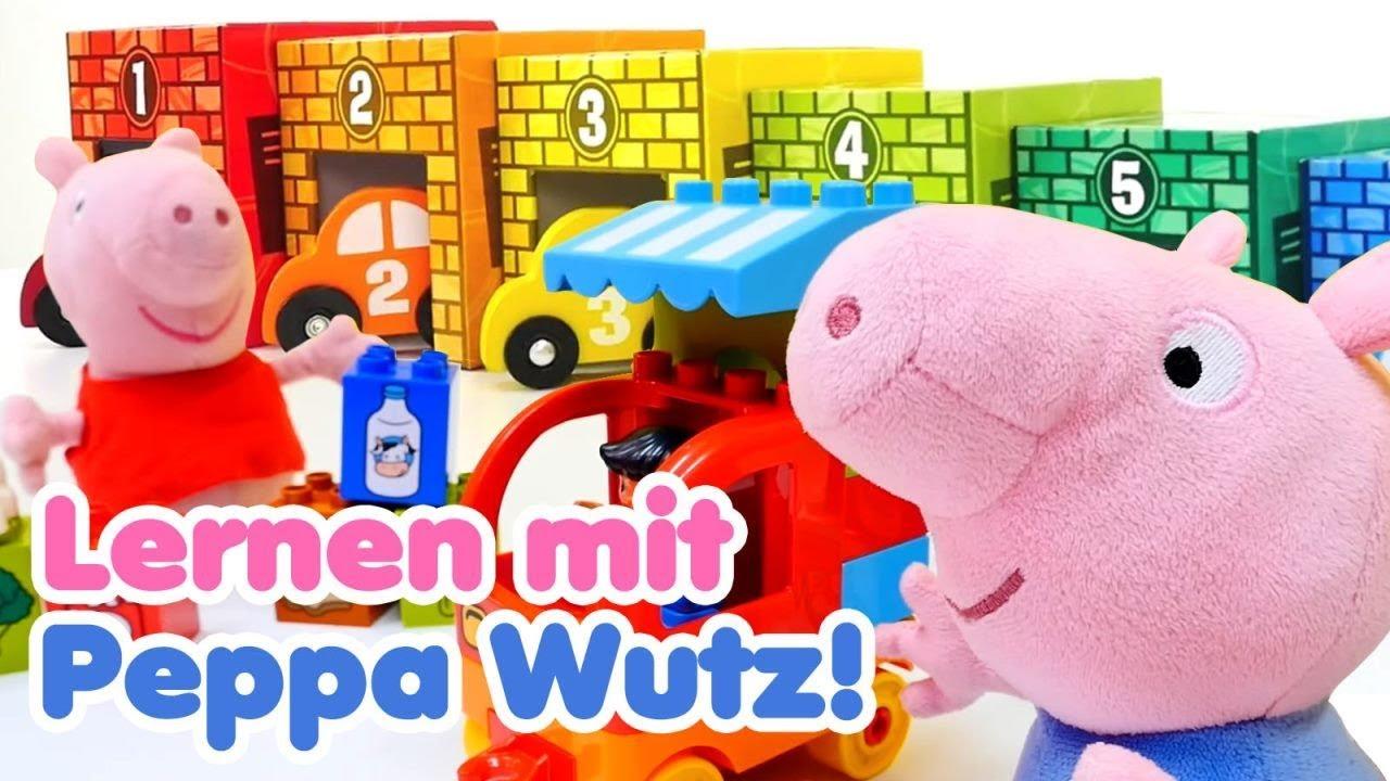 Peppa Wutz auf Deutsch  Lernen mit Peppa und Schorsch  Peppa