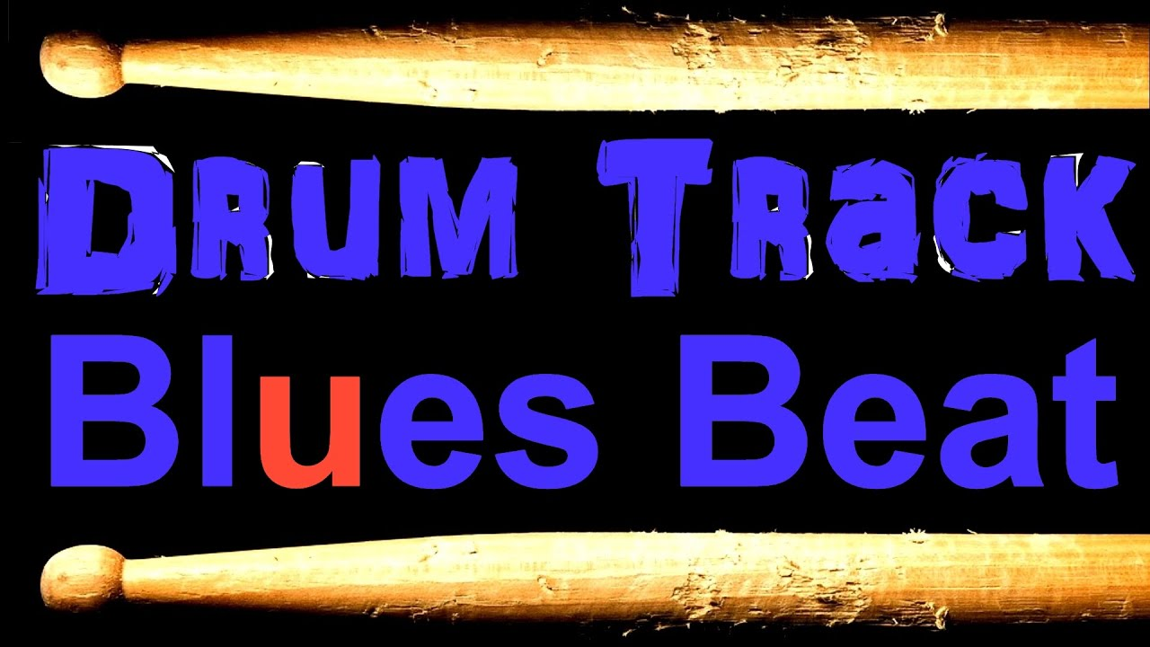 Slow Blues Drum Beat 65 BPM Bass Guitar Practice Track Download Free MP3  Drum Loop #25