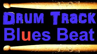 Slow Blues Drum Beat 65 BPM Bass Guitar Practice Track Download Free MP3 Drum Loops