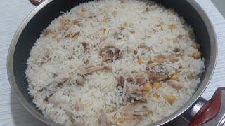 Gerçek Pilavın SIRRINI Veriyorum Tane Tane Pilav tavuklu Pirinç pilav nasıl yapılır