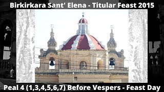 Mota 4 (2015 - 1,3,4,5,6,7) - Birkirkara Sant' Elena - Festa Titulari - 4/6 Qniepen / 39