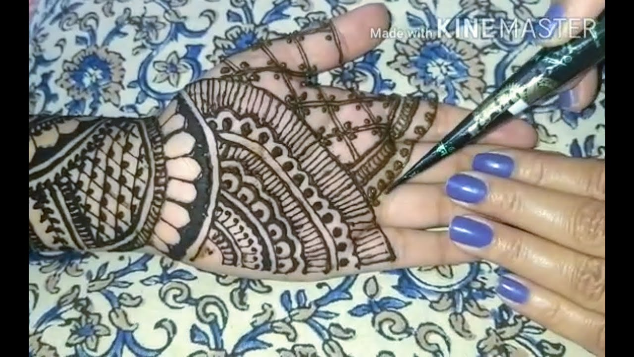 Mehendi designs for hands - Beutiful Mehendi designs for 2020