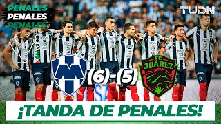 Tanda De Penales | Rayados 6 - 5 Fc Juárez | Copa Mx - Semifinal Vuelta | Tudn