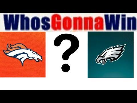Eagles vs Broncos predictions NFL 2017