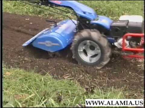 BCS Garden Tillers httpwwwbcstractorcom YouTube