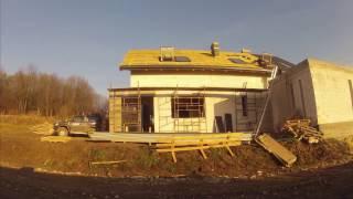 Timelapse z budowy domu HOMEKONCEPT-02. VOL 1