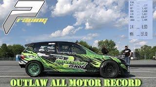8 Second - 550hp All Motor Honda Record | Prayoonto Racing x Driveshaftshop | ERacer