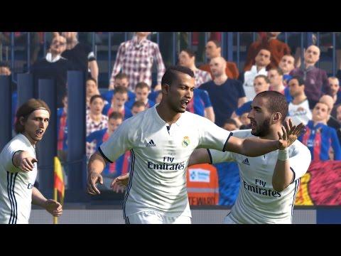 PES 2017 El Clásico on Superstar - FC Barcelona vs Real Madrid