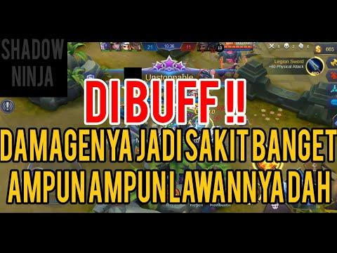 DIBUFF!! DAMAGE SHURIKEN SAKIT BANGET, SUSAH DIKILLNYA, LINCAH SEKALIHHH