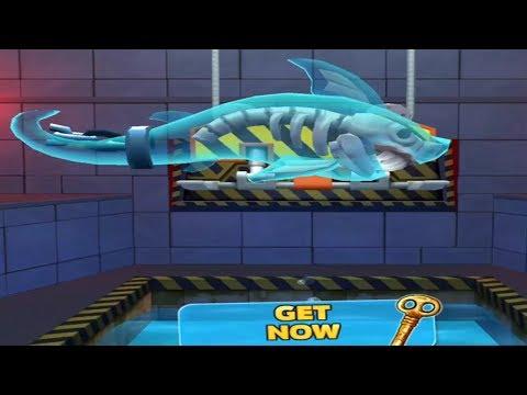 Hungry Shark Evolution New Halloween Update - Special GHOST SHARK -  Gameplay 2017