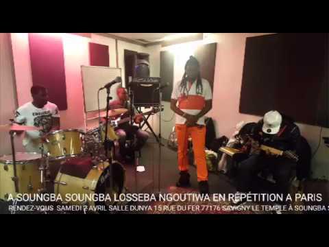 Répétition Losseba Ngoutiwa à Paris