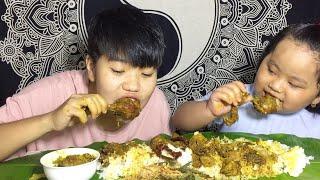 MUKBANG WITH TONTON   Chicken, Singju, Nga ga Soibum ga Thongba   Meitei Mukbang