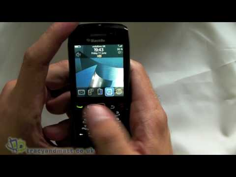 BlackBerry 9105 Pearl 3G unboxing video