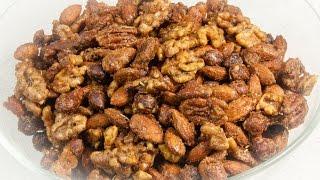 Herb Roasted Nuts (Vegan & Low Salt!)