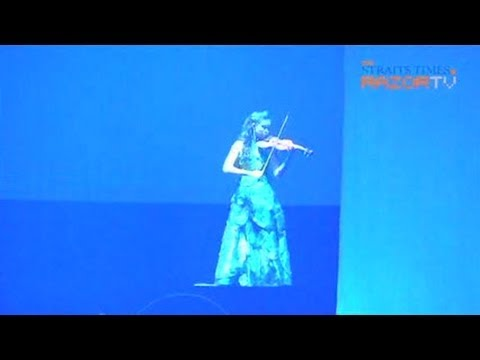 Violinist Min Lee dazzles at Apec's Singapore Evening (Our World, One World Pt 1)
