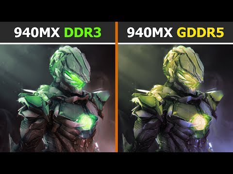 940MX GDDR5 vs 940MX DDR3 - GPU Comparison