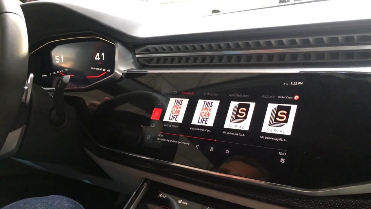 Google IO Demo Of Android Auto Inside Audi YouTube - Google audi car