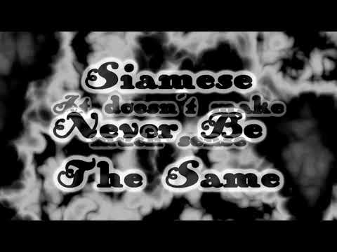 Siamese - Never Be The Same [Lyrics on screen]