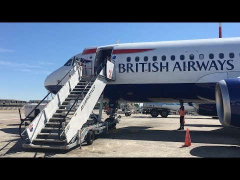 British Airways A320 Flight LHR-LIN
