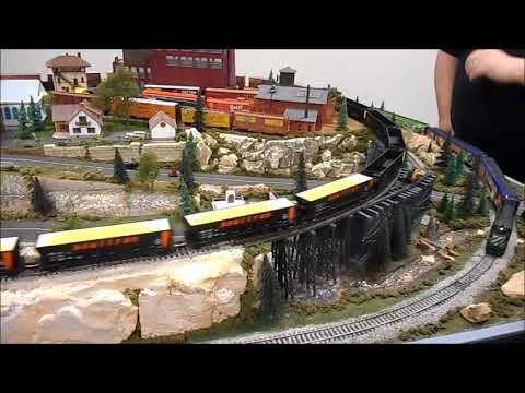 O M R A Model Train Show In Springfield Mo Spring 2018