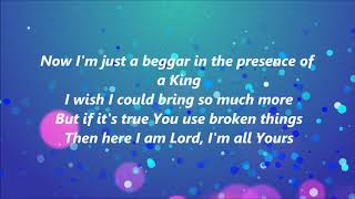 Matthew West - Broken Things (Lyrics)