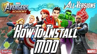 How To Install MARVEL Avengers Academy Mod APK - All Versions